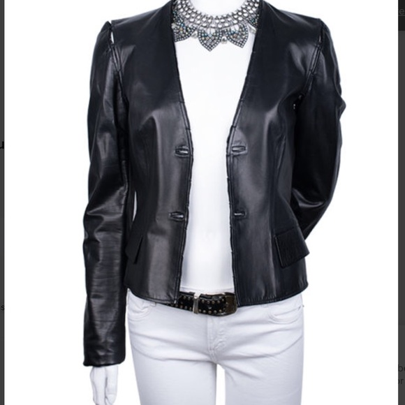 23ad38fbf1 Yves Saint Laurent Leather jacket
